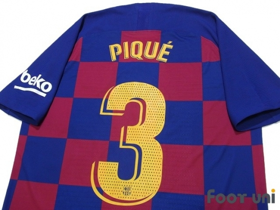 fc barcelona 2019 2020 home authentic shirt 3 pique online store from footuni japan fc barcelona 2019 2020 home authentic shirt 3 pique