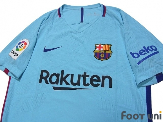 fc barcelona 2017 2018 away authentic shirt online store from footuni japan fc barcelona 2017 2018 away authentic