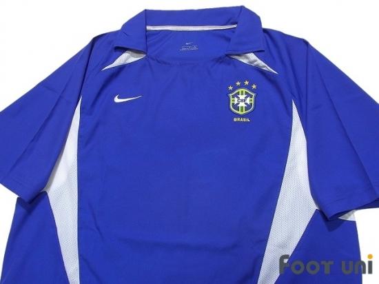 Brazil 2002 Away Shirt