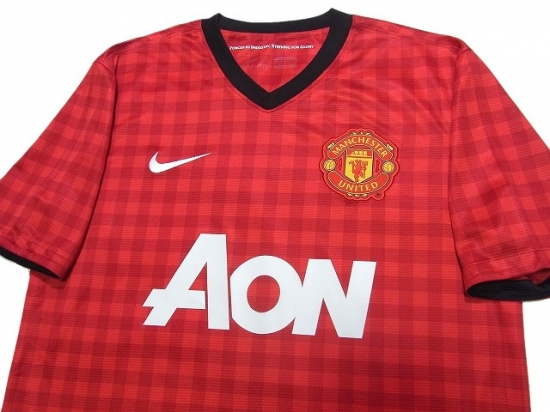 manchester united 2012 2013 home shirt online store from footuni japan manchester united 2012 2013 home shirt