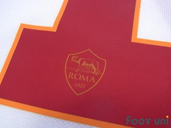 /Blanc Rome Vintage Armoiries avec Totti 10/T-Shirt/