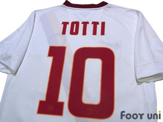 Rome Vintage Armoiries avec Totti 10/T-Shirt/ /Blanc