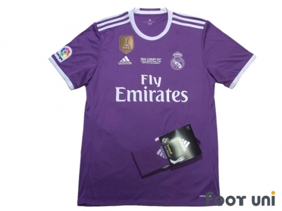 Real Madrid 2016-2017 Away Shirt and Socks #12 Champions League ...
